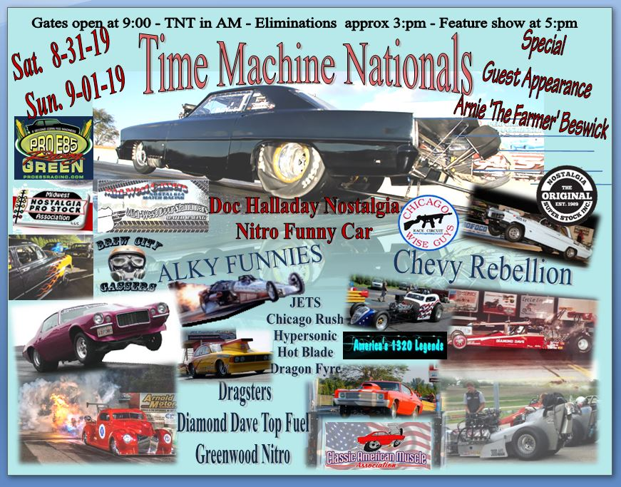 Labor Day Weekend – Time Machine Nationals | Great Lakes