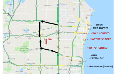 Road Closures: How Do I Get to the Track?